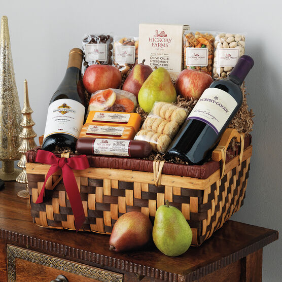 Hickory Holiday Celebration Gift Basket
