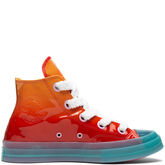 Converse x JW Anderson Patent Leather High Top Kumquat/Cherry Red