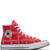 Converse x JW Anderson Chuck 70 Grid Flame Scarlet/White/White