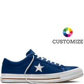 Converse Custom One Star Leather Low Top