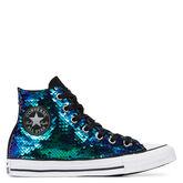 Chuck Taylor All Star Sequins High Top Black/Multicolor Reversible Se