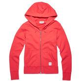 Women's Essentials Full Zip Hoodie Ultra Red