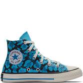 Converse x Dr. Woo Kids Chuck Taylor All Star High Top Horizon Blue/Black/Egret