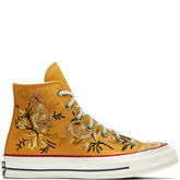Chuck Taylor All Star Floral High Top Turmeric Gold/Teak/Egret