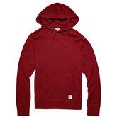 Men's Essentials Pullover Hoodie Red Block