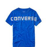 Converse Wordmark Tee Laser Blue