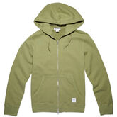 Men's Essentials Full Zip Hoodie Fatigue Green