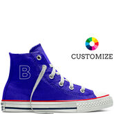 Converse Custom Chuck Taylor All Star High Top 4-7yr