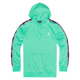 Star Chevron Track Pullover Hoodie Light Menta