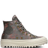 Chuck Taylor All Star Lift Ripple Floral High Top River Rock/Floral/Egret