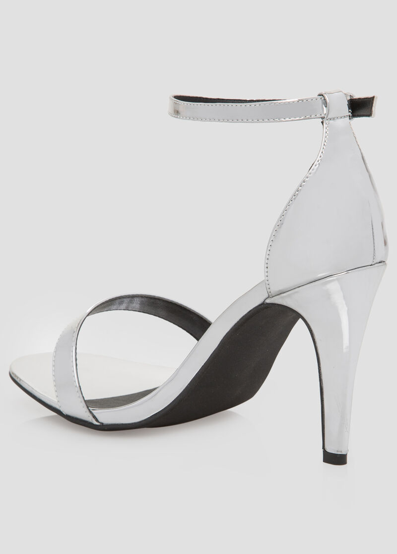 Black dress sandals wide width -  Metallic Dress Sandal Wide Width