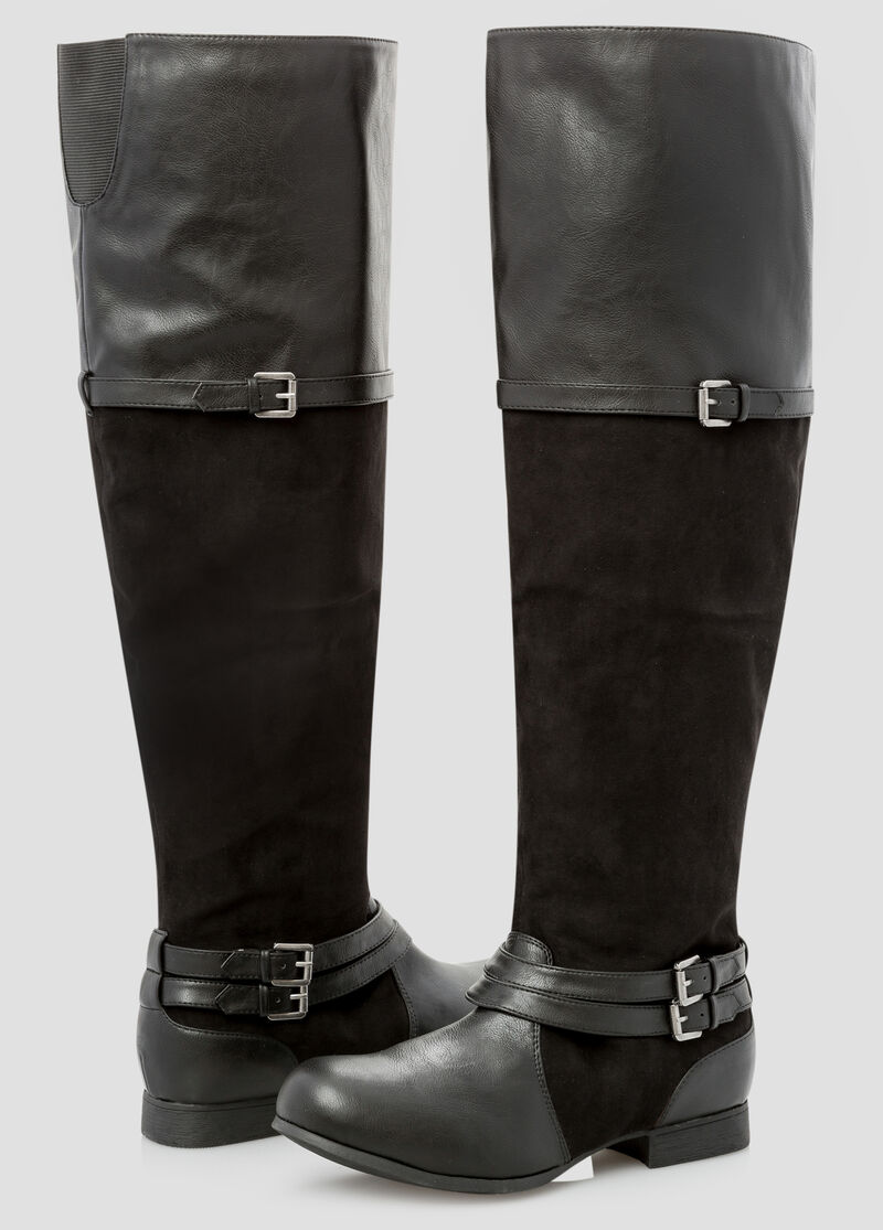 Wide Width Wide Calf Over The Knee Boot-Wide Width Boots-Ashley ...