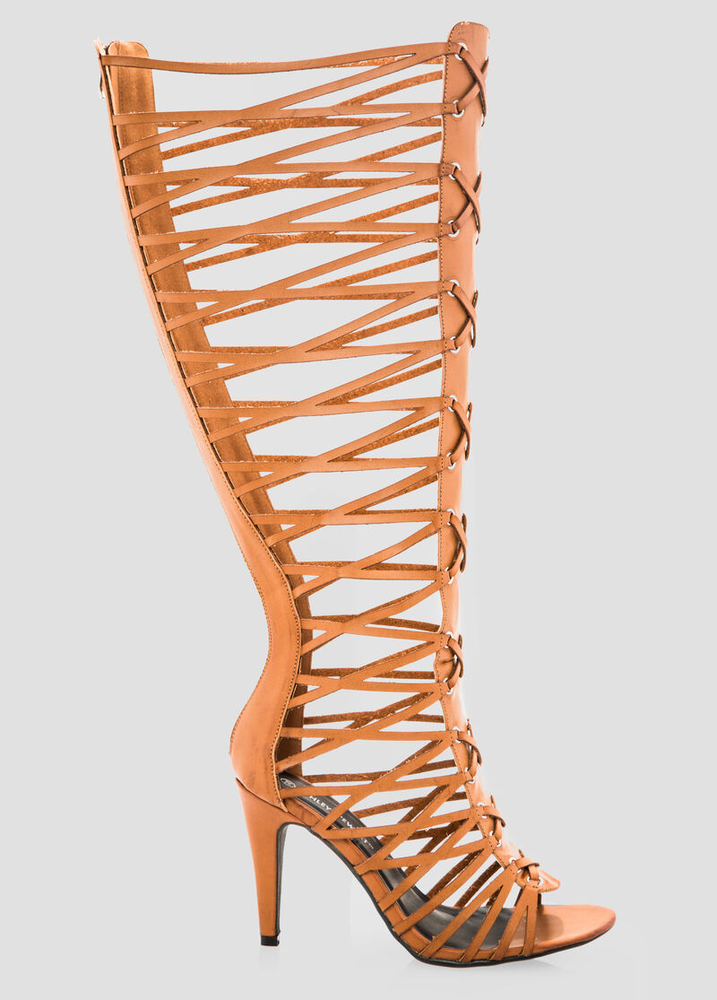 Womens sandals in wide width -  Tall Gladiator Sandal Wide Width Wide Calf