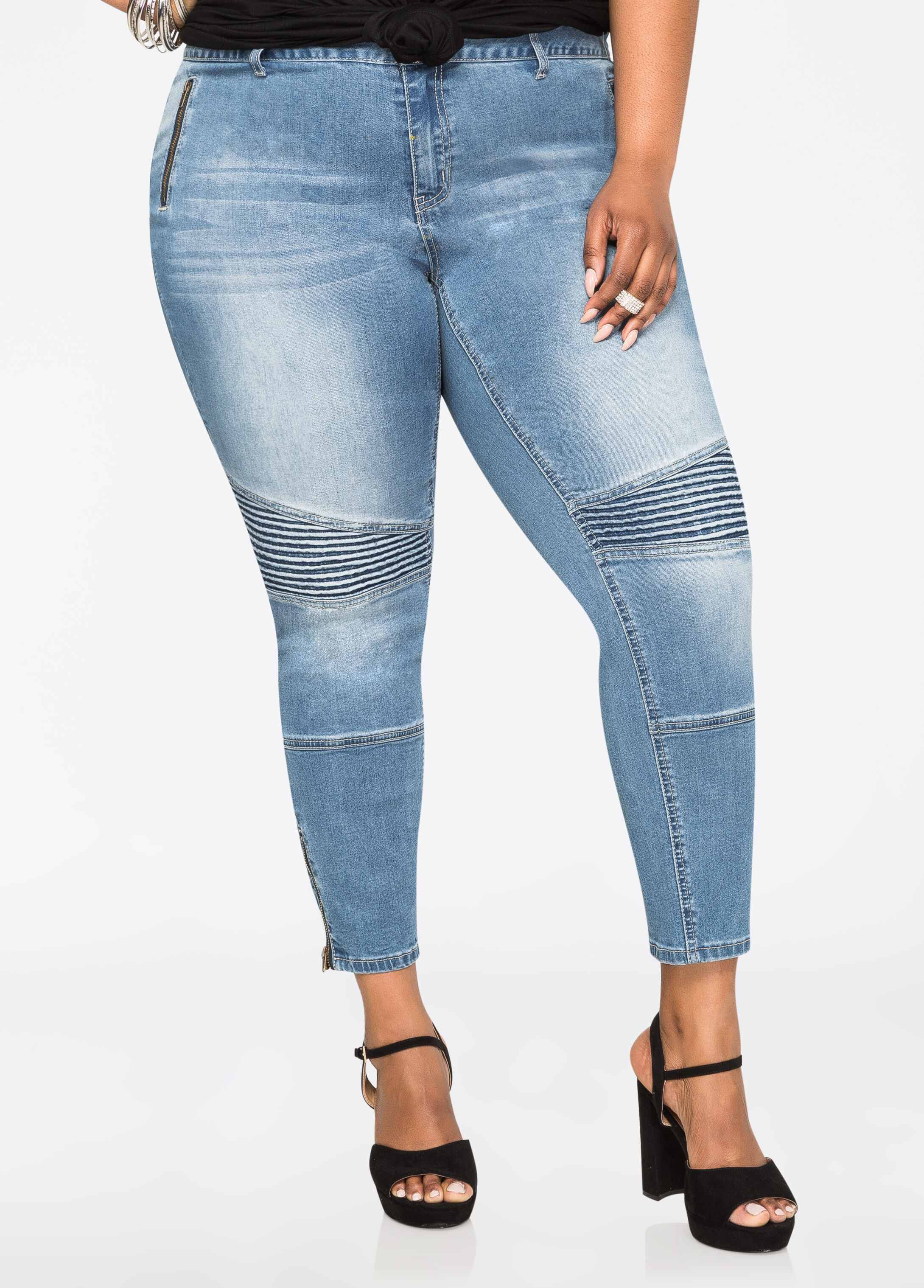 Size 28 Jeans | Size 30 Jeans + More Denim | Ashley Stewart