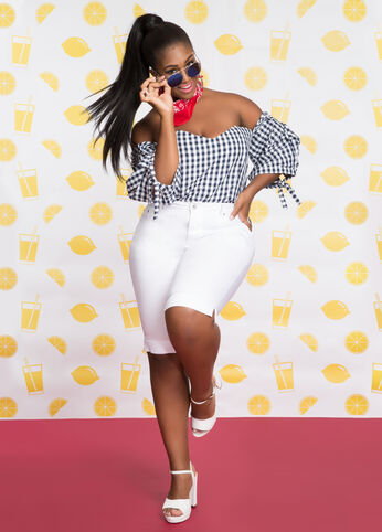 Plus Size Outfits - Gorgeous in Gingham