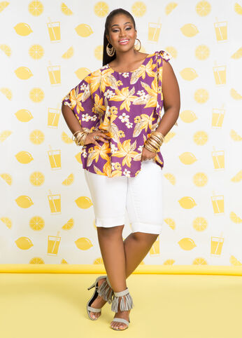 Plus Size Outfits - Tropic Beauty