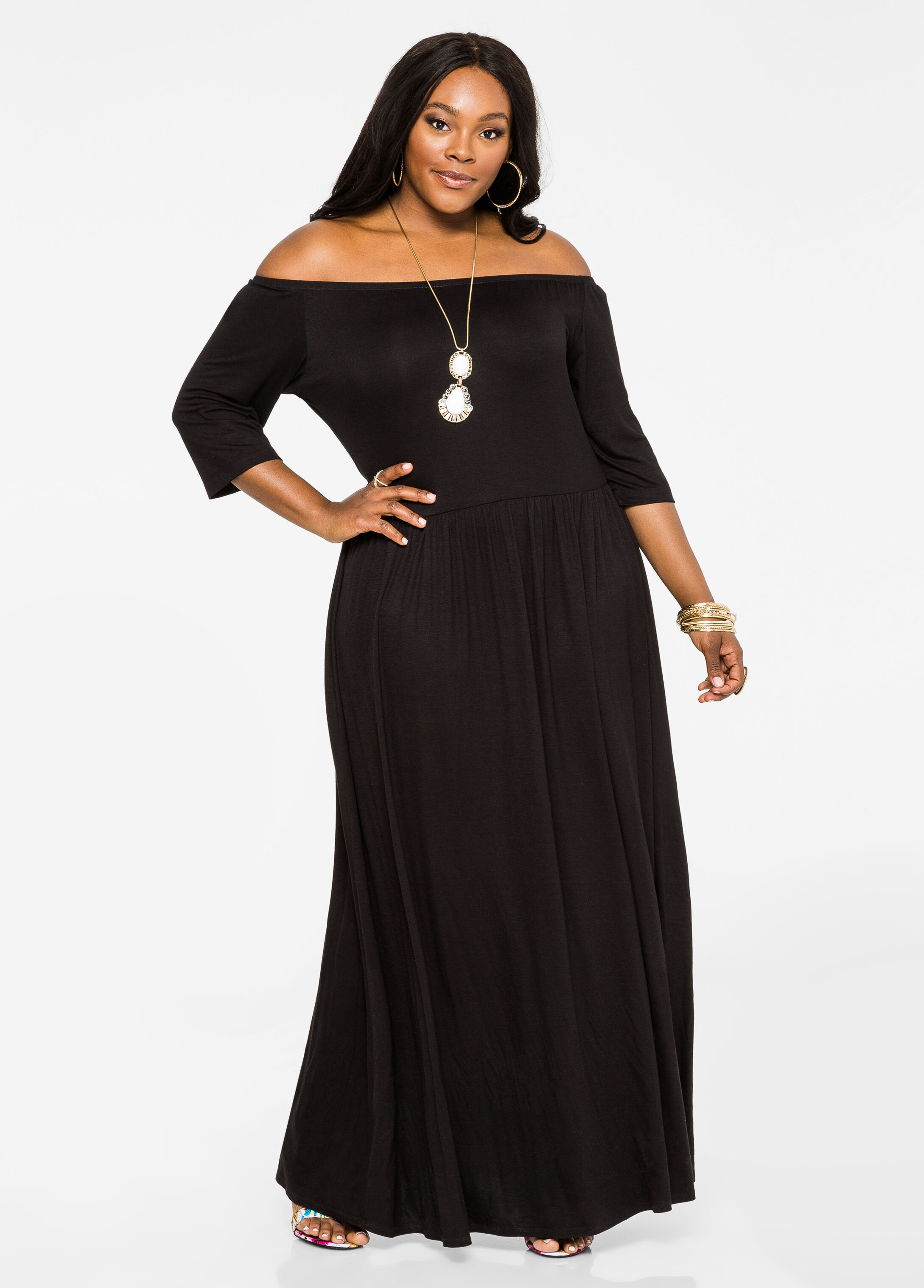 Plus Size Dresses In Sizes 12 to 36 | Ashley Stewart