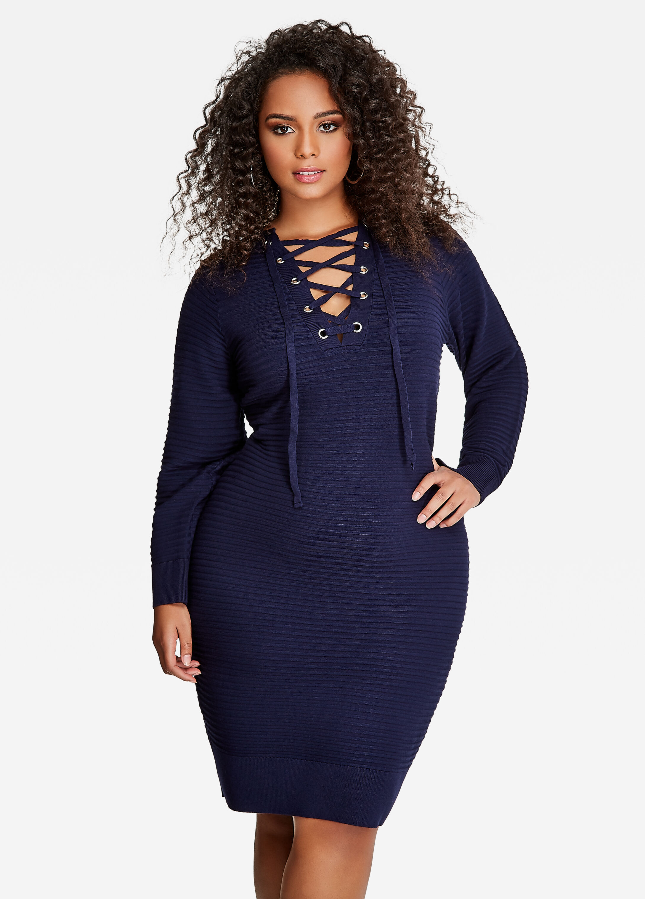 Cute sweater dresses plus size